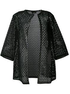 пальто с вышивкой Les Copains