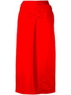 миди юбка с плиссировкой Isabel Marant