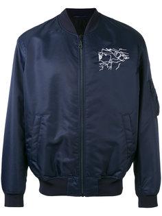 куртка-бомбер  с вышивкой Sketches  Kenzo