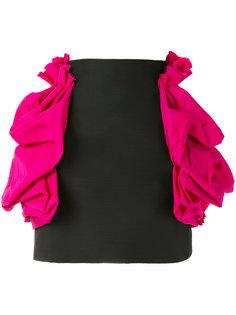 мини-юбка с рюшами Dsquared2