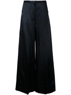 свободные брюки клеш Lemaire