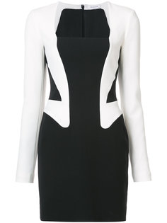 trompe loeil blazer dress Mugler
