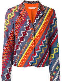 пиджак с вышивкой Tory Burch