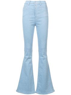 расклешенные джинсы с завышенной талией Unravel Project