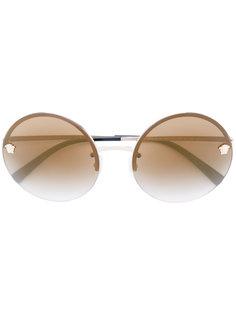 солнцезащитные очки Medusa с круглой оправой Versace