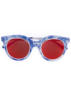солнцезащитные очки с контрастными линзами Italia Independent