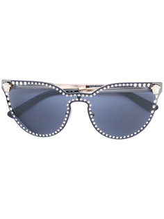 солнцезащитные очки Medusa с заклепками Versace
