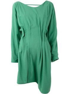 платье с асимметричным подолом Eckhaus Latta