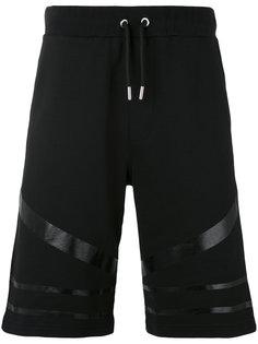 шорты с полосатой отделкой Les Hommes Urban