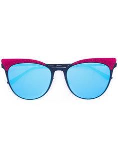 солнцезащитные очки в оправе кошачий глаз Italia Independent