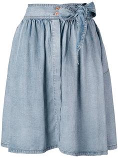 плиссированная юбка Diesel