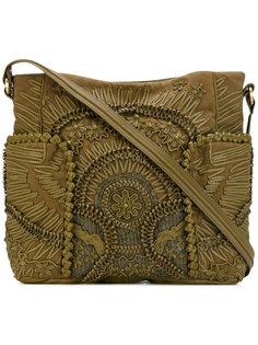 сумка-тоут с цветочным узором Jamin Puech