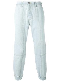 джинсы с панельным дизайном Kenzo