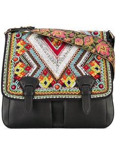 декорированная сумка-сэтчел  Roberto Cavalli