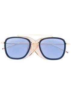 солнцезащитные очки с квадратной оправой Thom Browne