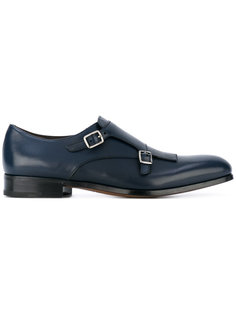 туфли монки с бахромой Salvatore Ferragamo