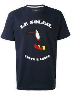 футболка с принтом le soleil  Paolo Pecora