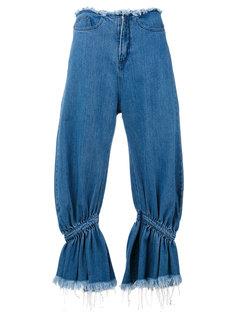 джинсы с завышенной талией Marquesalmeida