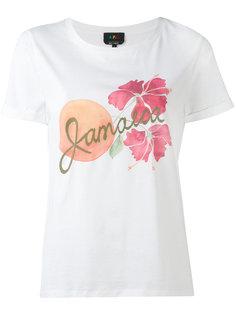 футболка с Гавайским принтом A.P.C.