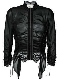 прозрачная куртка со сборками 3.1 Phillip Lim