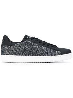 snakeskin print sneakers Ea7 Emporio Armani