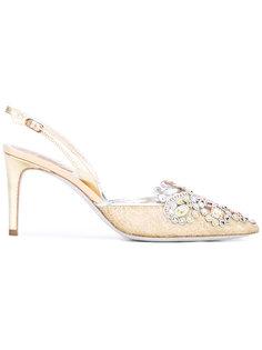 декорированные туфли René Caovilla