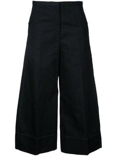 укороченные расклешенные брюки Lemaire