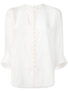 блузка без воротника Chloé