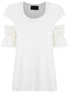 pleated blouse Andrea Bogosian