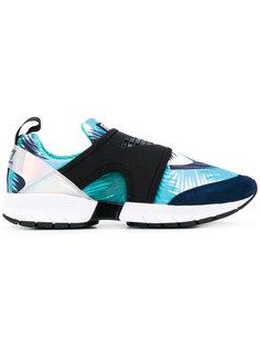 palm print sneakers Ea7 Emporio Armani