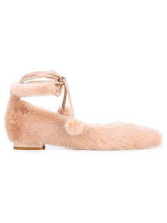 балетки со шнуровкой Natasha Zinko