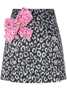 мини-юбка с бантом Dolce & Gabbana