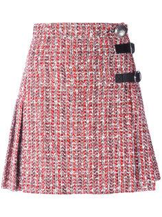 юбка вязки букле Alexander McQueen