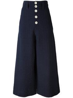 широкие брюки клеш See By Chloé