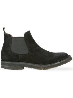 туфли с округлым носком  Buttero