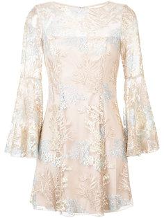 платье с цветочной вышивкой Jay Godfrey