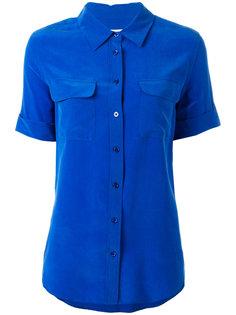 рубашка с короткими рукавами и карманами на груди  Equipment