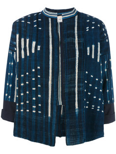 batik cropped jacket Forte Forte