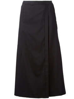 юбка длины миди с запахом Stephan Schneider