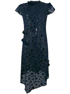 платье в горошек  Kolor