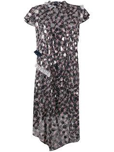 платье с отделкой  Kolor