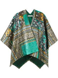 свободный пиджак с принтом  Ermanno Gallamini