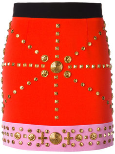 studded fitted skirt Fausto Puglisi