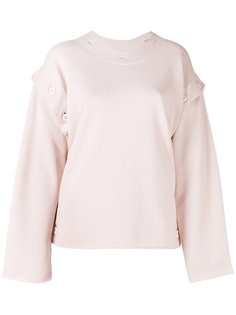 buttoned sweatshirt Mm6 Maison Margiela