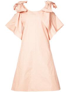 короткое платье с бантами Chloé