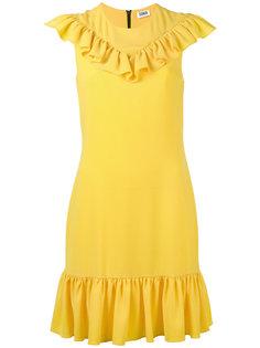 платье без рукавов с оборками Sonia By Sonia Rykiel