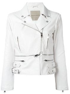 пиджак с лямками и отделкой молниями Ermanno Scervino