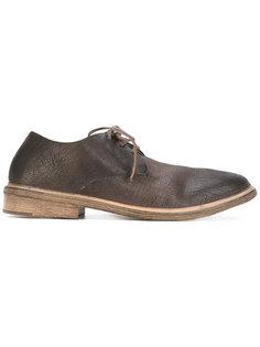 ботинки с потрескавшимся эффектом Marsèll