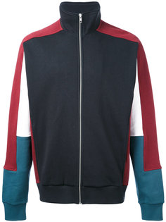 colourblock zipped sweatshirt Futur