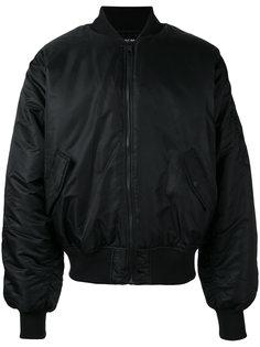 сатиновая куртка-бомбер Hood By Air